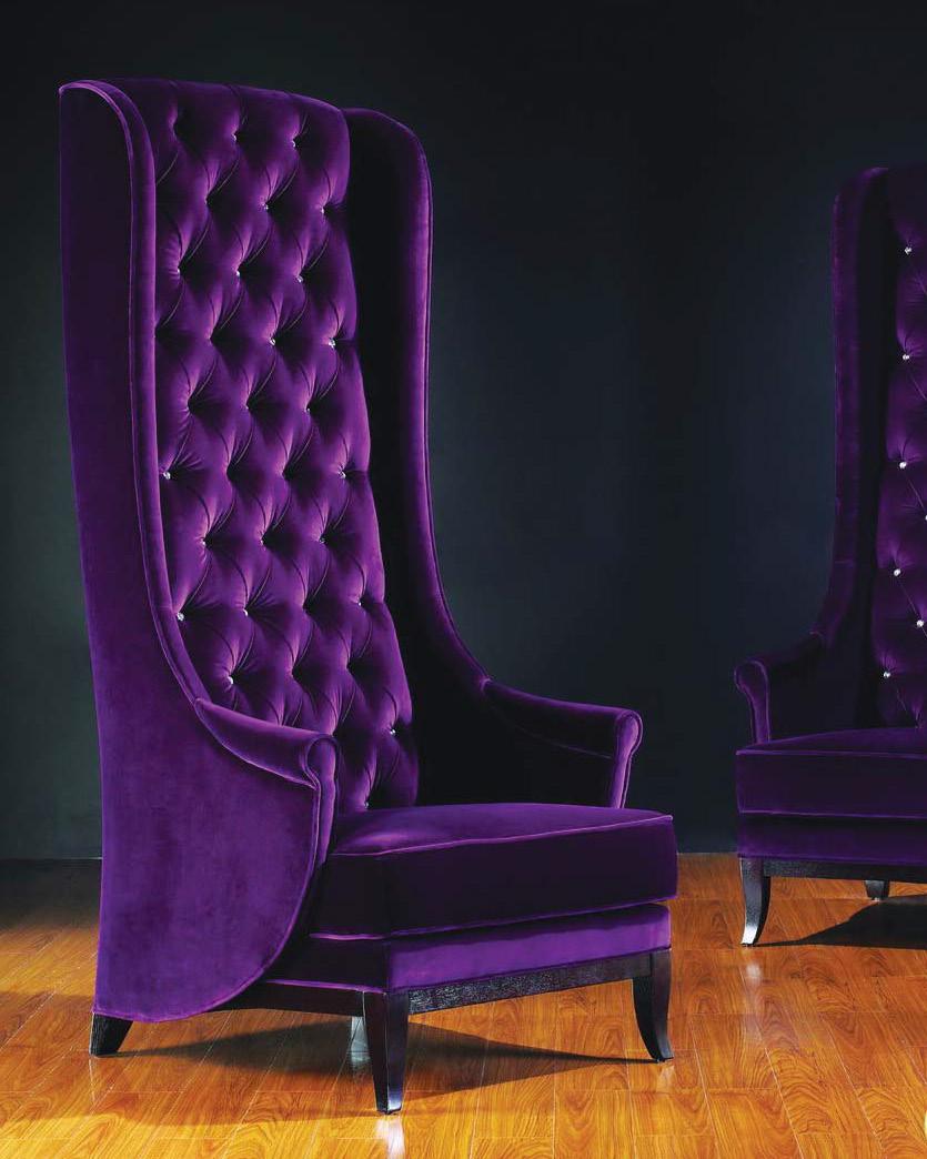 Сделать кресло с высокой спинкой своими руками