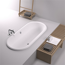 Ottocento built-in bathtub