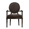 Vintage Louis Round Armchair 8827.0008 A008 Brown - на 360.ru: цены, описание, характеристики, где купить в Москве.