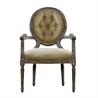 Vintage Louis Round Button Armchair 8827.0009 H Hemp - на 360.ru: цены, описание, характеристики, где купить в Москве.