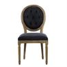 Vintage Louis Round Button Indigo Side Chair 8827.1109  - на 360.ru: цены, описание, характеристики, где купить в Москве.