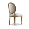 Vintage Louis Round Side Chair 8827.0003 A015 Beige - на 360.ru: цены, описание, характеристики, где купить в Москве.