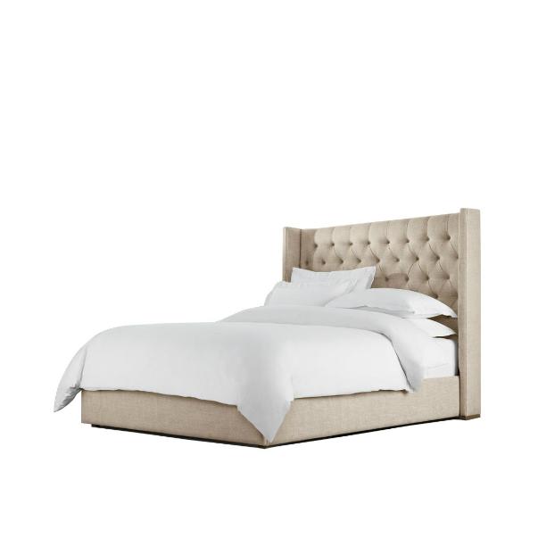 Loft Linen King / Queen Bed 5205K A015 / 5215Q A015 Beige - на 360.ru: цены, описание, характеристики, где купить в Москве.