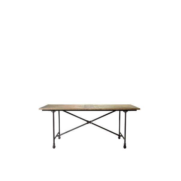 """72"""" Vintage Wood & Metal Table 8831.0004S - на 360.ru: цены, описание, характеристики, где купить в Москве."""
