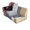 Decor sofa bed - на 360.ru: цены, описание, характеристики, где купить в Москве.