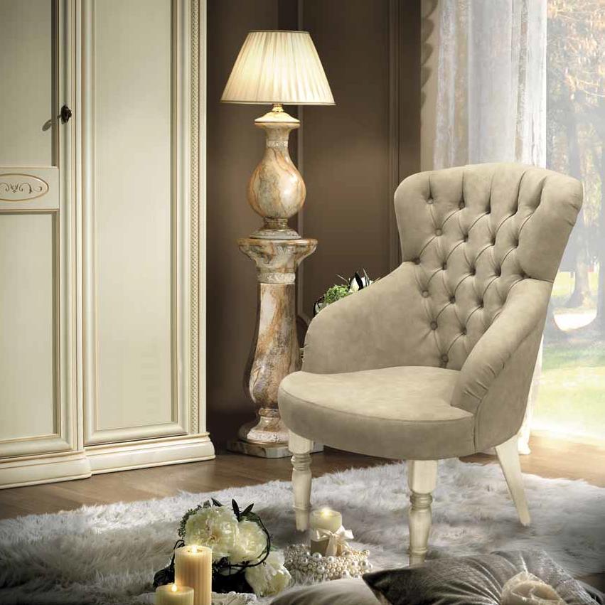 Siena Avorio Capitonne armchair - на 360.ru: цены, описание, характеристики, где купить в Москве.