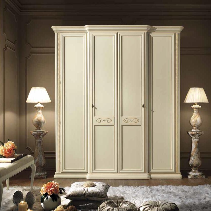 Siena Avorio 4 door wardrobe - на 360.ru: цены, описание, характеристики, где купить в Москве.