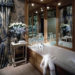 Bathroom in limed oak