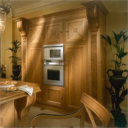 Edwardian cooks cupboard in oak