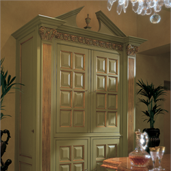 Regency pantry in green