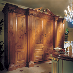 Regency cold cupboard in oak