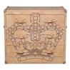 Howard Chest Of Drawers Crown Studded Parchment - на 360.ru: цены, описание, характеристики, где купить в Москве.