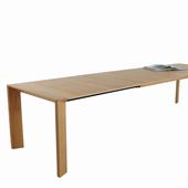 Обеденный стол Made in Germany. Обеденный стол, сделано в Германии с расширением