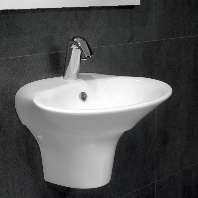Veya basin with semipedestal - на 360.ru: цены, описание, характеристики, где купить в Москве.