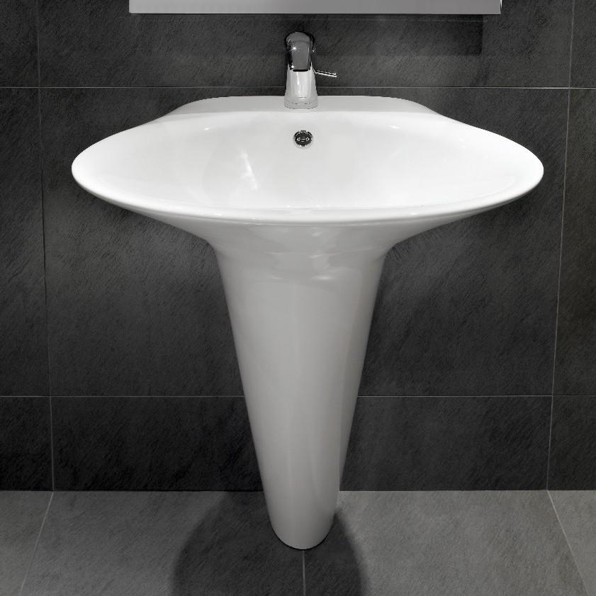 Veya basin with pedestal - на 360.ru: цены, описание, характеристики, где купить в Москве.