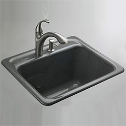 Чугунная мойка для кухни