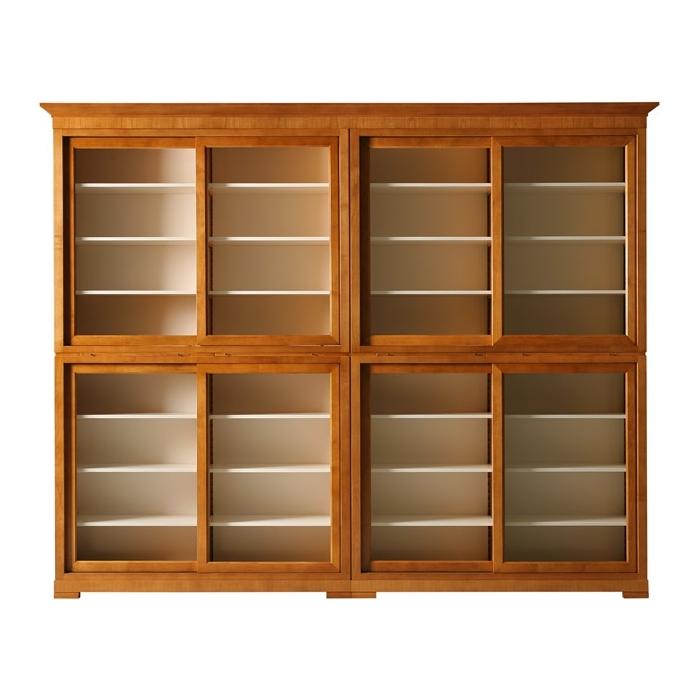 Книжный шкаф fs3310182 (кабинеты morelato) итальянская мебел.