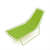 Leaf Chaise Lounge - на 360.ru: цены, описание, характеристики, где купить в Москве.
