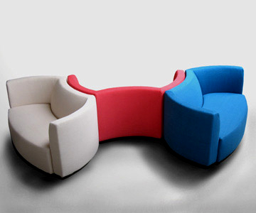 Moderner Schaukelstuhl Design Albizzate