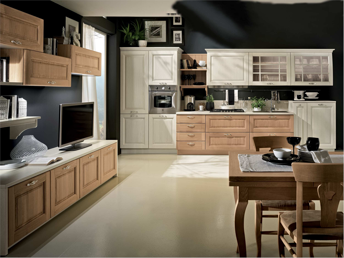 Cucine country beige
