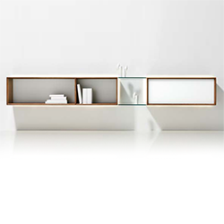 Lux wall unit