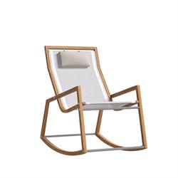 Кресло-качалка для дачи   красивое